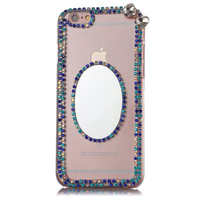 Diamond Protective Case for iPhone 6 6S / 6 Plus / 6S Plus Mirror StyleiPhone Cases/Covers<br>Diamond Protective Case for iPhone 6 6S / 6 Plus / 6S Plus Mirror Style<br><br>Color: Black,Blue,Rose,Silver<br>Compatible for Apple: iPhone 6, iPhone 6 Plus, iPhone 6S, iPhone 6S Plus<br>Features: Back Cover, With Mirror<br>Material: Plastic<br>Package Contents: 1 x Case<br>Package size (L x W x H): 17.5 x 11.5 x 2 cm / 6.88 x 4.52 x 0.79 inches<br>Package weight: 0.100 kg<br>Product weight: 0.050 kg<br>Style: Diamond Look