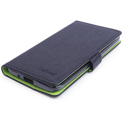 PU Protective Case with Two Card Slots for 5.5 inch ASUS ZENFONE 2