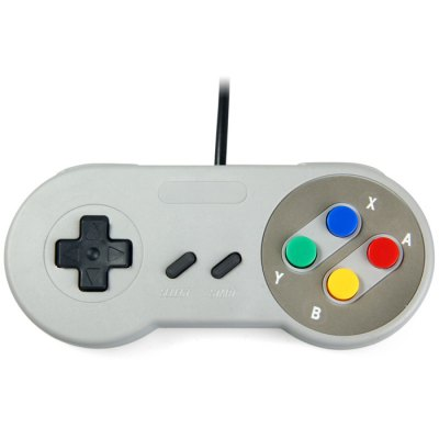 Classic Gamepad with Mainframe Interface for SNESMouse<br>Classic Gamepad with Mainframe Interface for SNES<br><br>Features: Gaming<br>Interface: Wired<br>Package Contents: 1 x Classic Gamepad with Mainframe Interface for SNES<br>Package weight: 0.149 kg<br>Product weight: 0.098 kg<br>System support: Nintendo