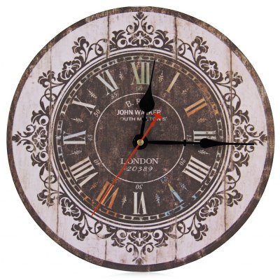 Silent Round Decorative Wall Clock