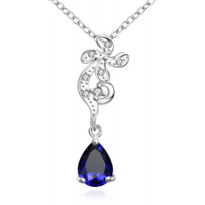 N114-A 925 Silver Plated Necklace Brand New Design Pendant Necklaces Jewelry for Women