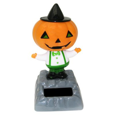 Solar Shaking Pumpkin Man Environment-friendly Ornamentation