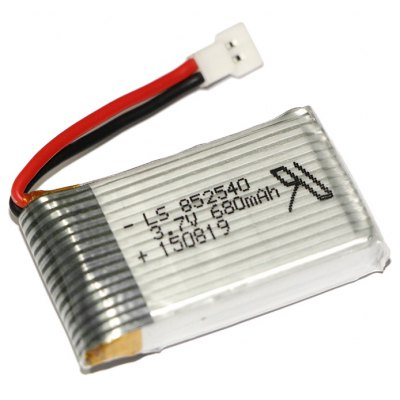 Extra Spare 3.7V 680mAh Battery for TK TM68 M62R HQ 905 Cheerson CX - 30 RC Quadcopter