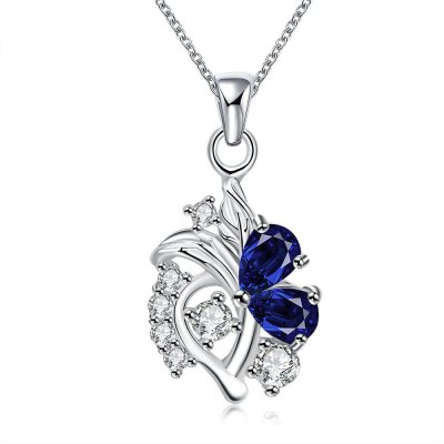 N115-A 925 Silver Plated Necklace Brand New Design Pendant Necklaces Jewelry for Women