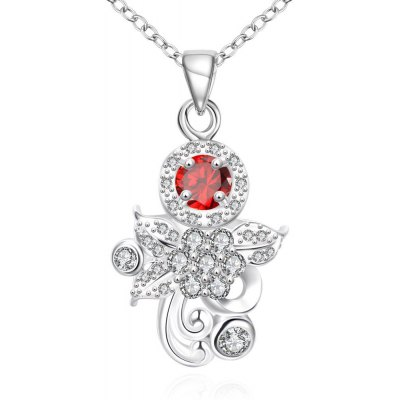 N124 - B 925 Silver Plated Necklace for Women