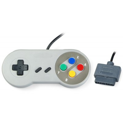 Classic Gamepad with Mainframe Interface for SNES