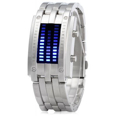 Date Digital LED Bracelet Watch for Women with LED Display