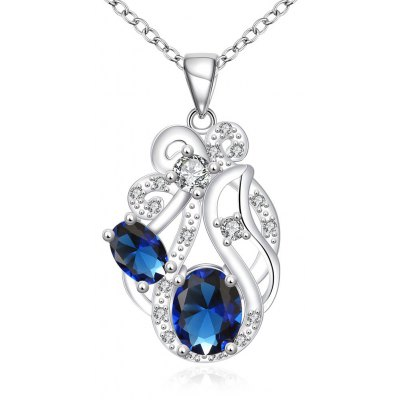 N111-A 925 Silver Plated Necklace Brand New Design Pendant Necklaces Jewelry for Women
