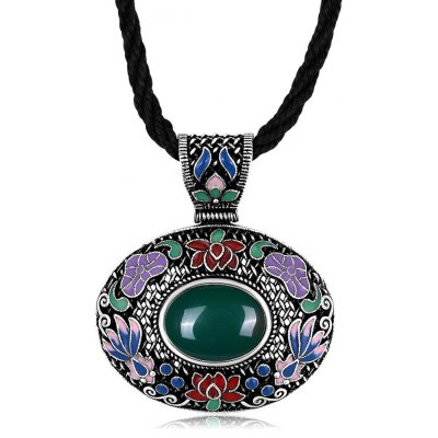 N011-C Classic National Style Necklace for Women