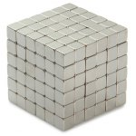 216Pcs NdFeB Mini 5mm Square Magnetic Block Puzzle Educational Toy for Intelligence Development