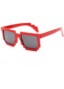 Unisex Anti-UV Polarized Mosaic Style Sunglasses