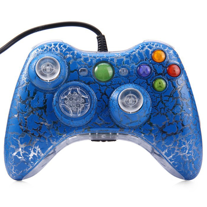 Crackle Style Wired Gamepad Controller for PC XBOX 360