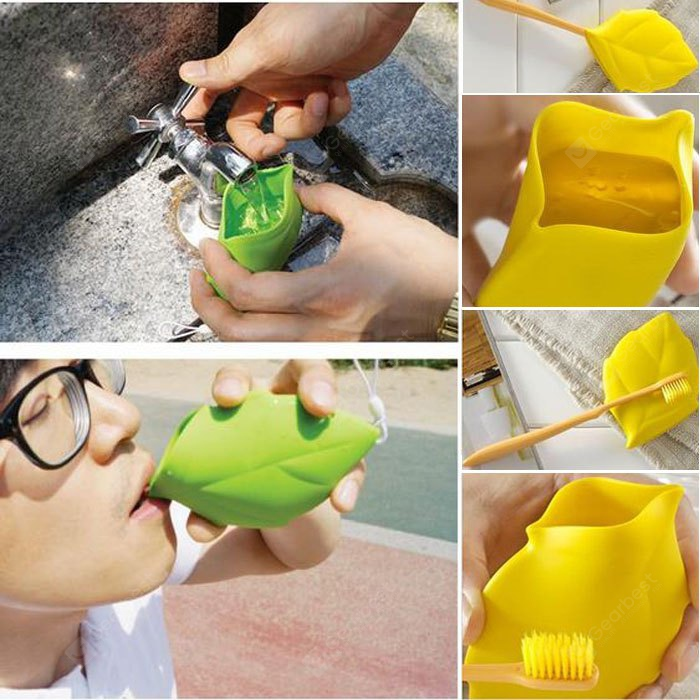 Maple Leaf Shaped Pocket Cup Silicone Made 159062703