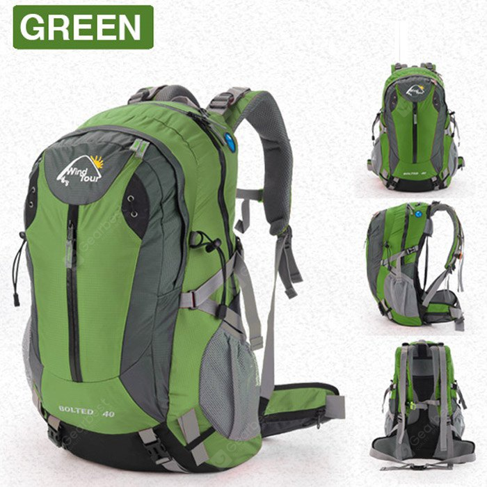 Wind Tour 50L Backpack with Rain Cover