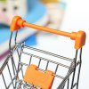 1 Piece Mini Shopping Handcart Supermarket Holder Basket for sale