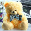 cheap 17cm Butterfly Knot Bear Feature Plush Toy Stuffed Doll Christmas Present