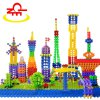 Buy 100QZM Snowflake Sheet Plastic Building Block Puzzle Interactive Game Toy COLORFUL