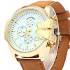 Shiweibao A1107 Golden Case Men Quartz Watch deal
