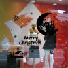 Christmas Santa Claus and Moon Style Wall Stickers for sale