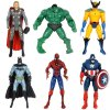 Buy Avengers Characteristic Figure Models Figurine Christmas Gift / Set COLORMIX