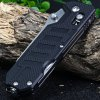 best Ganzo G735-BK Multi-function Axis Lock Pocket Knife