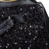 Stylish Solid Color Sequins Zipper Design Women's Tote for sale