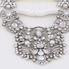Ethnic Hollow Out Rhinestone Water Drop Necklace deal
