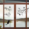 cheap Lovely Birds on The Tree Design Removable Wallpaper
