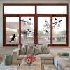Lovely Birds on The Tree Design Removable Wallpaper photo