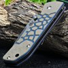 best Sanrenmu 7071 Classic Hunting Knife with Liner Lock