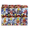 Buy DUOLEPIN TOYS DLP9011 Fluorescent Crystal Block Iron Man Christmas Gift 1/ Set COLORMIX