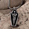 N032 Titanium Fashion Chain 316L Stainless Steel Vintage Pendant Necklace deal