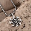 best N039 Titanium Fashion Chain 316L Stainless Steel Vintage Pendant Necklace