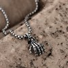 best N049 Stainless Steel Vintage Pendant Necklace