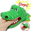 Buy Xincheng Evil Biting Finger Crocodile Classic Trick Game Educational Toy Family Party GREEN
