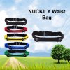 NUCKILY Unisex Elastic Sports Personal Waist Bag