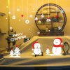 best Christmas Small Snowman Design Wall Stickers