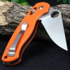 Ganzo G729-OR Axis Lock Folding Knife Pocket Clip deal