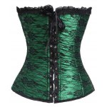 cheap Vintage Strapless Slimming Lace-Up Corset For Women