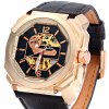 Oulm 3218 Men Automatic Mechanical Hollow-out Watch deal