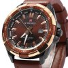 NAVIFORCE 9056 Men Leather Band Quartz Watch deal