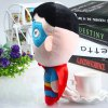 19cm Cute Superman Design Plush Doll Pendant with Sucker Christmas Gift deal