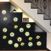 best Colorful Cartoon Smiling Face Style Wall Stickers