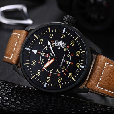 Naviforce 3683 Men Quartz Watch
