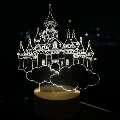 3D Christmas Tree Style LED NightlightChristmas Supplies<br>3D Christmas Tree Style LED Nightlight<br><br>Type: Decorative Lighting<br>Decorative Style: Simple and Modern<br>For: Lover, Hotel, Other, Restaurant, Cafe, School, Bar, Home, Saloon, Student, Office<br>Features: Creative, Gift, Other<br>Product weight   : 0.130 kg<br>Package weight   : 0.200 kg<br>Product size (L x W x H)   : 7 x 5 x 3 cm / 2.75 x 1.97 x 1.18 inches<br>Package size (L x W x H)  : 10 x 8 x 8 cm / 3.93 x 3.14 x 3.14 inches<br>Package Contents: 1 x LED Nightlight, 1 x Lamp Base