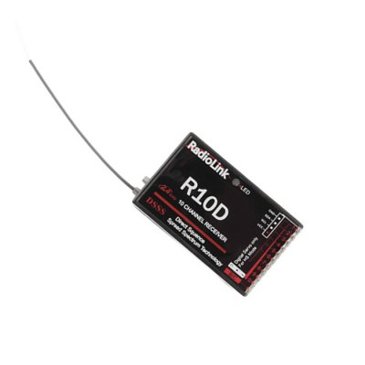 Spare RadioLink R10D 2.4G 10 Channel Receiver for Radiolink AT9 AT10 Transmitter