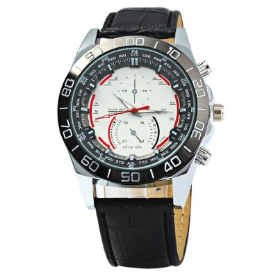 ZHONGYI Z702 Men Quartz Watch with Bamboo Joint Leather StrapMens Watches<br>ZHONGYI Z702 Men Quartz Watch with Bamboo Joint Leather Strap<br><br>Brand: ZHONGYI<br>Watches categories: Male table<br>Watch style: Business<br>Movement type: Quartz watch<br>Shape of the dial: Round<br>Display type: Analog<br>Case material: Stainless steel<br>Band material: Leather<br>Clasp type: Pin buckle<br>Special features: Decorating small sub-dials<br>The dial thickness: 1.0 cm / 0.39 inches<br>The dial diameter: 4.3 cm / 1.69 inches<br>The band width: 2.0 cm / 0.79 inches<br>Wearable length: 18 - 22.5 cm / 7.09 - 8.86 inches<br>Product weight: 0.064 kg<br>Package weight: 0.114 kg<br>Product size (L x W x H): 26 x 4.3 x 1 cm / 10.22 x 1.69 x 0.39 inches<br>Package size (L x W x H): 27 x 5.3 x 2 cm / 10.61 x 2.08 x 0.79 inches<br>Package contents: 1 x ZHONGYI Z702 Watch