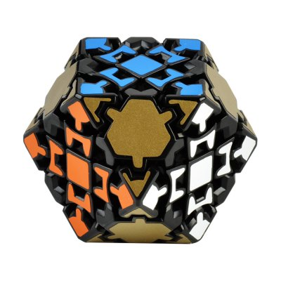 Full Gear Mechanism Cuboctahedron Style Colorful Cool Magic Cube Toy
