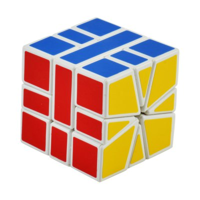 Здесь можно купить   Irregular Style Colorful Cool Magic Cube for the Professional Game Design - White Base Other Classic Toys