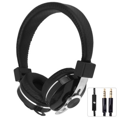 INGEL IP168 Adjustable Stereo Headphones with Mic